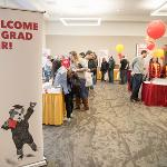 THE SPRING GRADUATION FAIR WAS HELD AT THE UNIVERSITY CENTER.