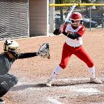 FSU SOFTBALL OPENED ITS HOME SCHEDULE BY WINNING 3 OF 4 GAMES.