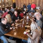 THE ALUMNI ASSOCIATION HOSTED A RECEPTION FOR GRAND RAPIDS AREA ALUMNI AT THE FOUNDERS BREWING COMPANY.