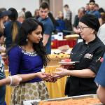 SCENES FROM THE INTERNATIONAL FESTIVAL OF CULTURES AT THE UNIVERSITY CENTER.