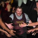 """THE """"HEART-TO-HEART, HAND-IN-HAND"""" BASKETBALL GAME BENEFITED THE AREA 5 SPECIAL OLYMPICS."""