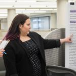 EACH YEAR HONORS STUDENTS SHARE THEIR WORK THROUGH CONDENSED TALKS AND POSTER PRESENTATIONS.