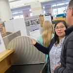 THE SENIOR SYMPOSIUM SERVES AS THE CAPSTONE EXPERIENCE FOR HONORS STUDENTS.