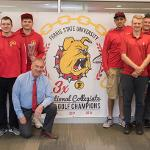 THE FSU DISC GOLF TEAM WAS RECOGNIZED FOR WINNING ITS THIRD NATIONAL CHAMPIONSHIP IN FIVE YEARS.