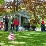 OPENING OF THE FERRIS MAUSOLEUM
