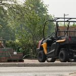 SUMMER OFFERS THE IDEAL OPPORTUNITY FOR CONSTRUCTION CREWS TO SPRUCE UP THE CAMPUS.