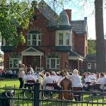 THE FERRIS COMMUNITY SUMMER BAND PRESENTED ITS FIRST CONCERT OF THE SEASON. . .
