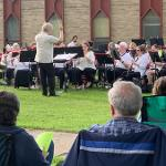 A TOTAL OF SIX CONCERTS ARE ON THE SCHEDULE FOR THE SUMMER BAND.