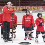 HOCKEY CAMP PLACES A STRONG EMPHASIS ON INDIVIDUAL SKILL DEVELOPMENT.