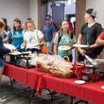 FOUNDERS' DAY OFFERED A BREAK FOR STUDENTS ENGAGED IN THEIR FIRST WEEK OF FALL SEMESTER CLASSES.