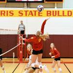BULLDOG VOLLEYBALL SWEPT THE FERRIS INVITATIONAL WITH FOUR SEASON-OPENING VICTORIES.