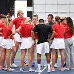 WOMEN'S TENNIS IS OFF TO A 2-0 START THIS SEASON.