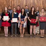 RECIPIENTS OF THE 2019 LEGACY SCHOLARSHIP WERE HONORED BY THE ALUMNI ASSOCIATION AND ITS BOARD OF DIRECTORS.