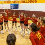 THE BULLDOGS ARE HEADING FOR THE NCAA TOURNAMENT NEXT WEEKEND AT LEWIS UNIVERSITY.