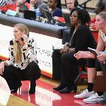COACH KENDRA FAUSTIN AND THE BULLDOGS WILL HOST ASHLAND THIS SATURDAY (DEC. 7) AT 7:30 PM.