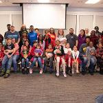 THE STUDENTS WITH CHILDREN PROGRAM HOSTED ITS ANNUAL BULLDOG BESTOW HOLIDAY PARTY.