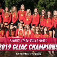 2019 GLIAC Champions - Volleyball