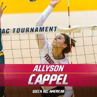 Allyson Cappel - 2019 D2CCA All-American