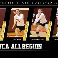 American Volleyball Coaches Associaton All-Region - Volleyball