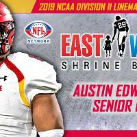 Austin Edwards 2019 NCAA Division II Lineman of the Year