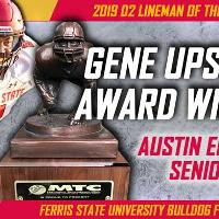 Austin Edwards - Gene Upshaw 2019 D2 Lineman of the Year