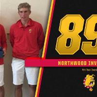 Men's Golf - 4th Place Northwood Invitational