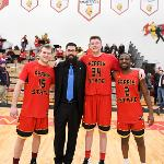 SENIORS GREG WILLIAMS, COLE WALKER AND D'ANGELO HUGHES WERE MEMBERS OF THE BULLDOGS' 2018 NCAA D2 NATIONAL CHAMPIONSHIP TEAM.