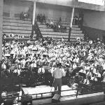 May 1953 Western Michigan Band Festival at Alumni Gym