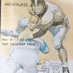 A 1959 football game program