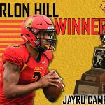 Quarterback Jayru Campbell won the Harlon Hill Trophy in 2018 when he led the Bulldogs to a 15-1 record and a national runner-up finish.