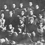 A shot of an early FI Football team