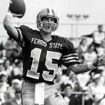 Quarterback Dave DenBraber set the NCAA Division II career passing record (since broken) in 1987 by finishing his Bulldog career with 8,536 yards