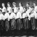 Let's not forget the ladies - this is women's basketball from 1905.
