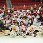Bulldog Hockey reached the 2012 Frozen Four and played in the NCAA Division I national championship game.