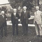 Woodbridge Ferris with members of the Board of Control (June 15, 1915)