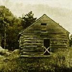 This is the log cabin where W.N. Ferris was born.
