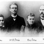 Faculty in 1889