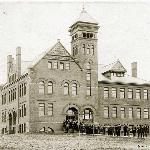 Old Main in 1895.
