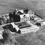 Historical Aerial View of Ferris Campus