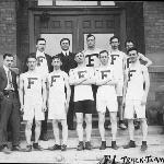 1913 Ferris Institute Track Team