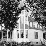 Ferris house, Elm and River streets in Big Rapids,  destroyed by fire in 1938