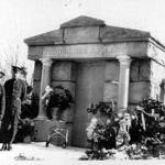 Ferris Mausoleum in Highland View Cemetery March 28, 1928, Big Rapids