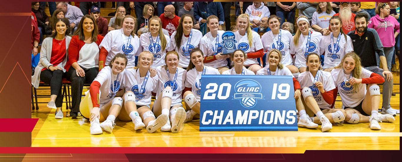 Six Straight GLIAC Regular Season and Tournament Champions