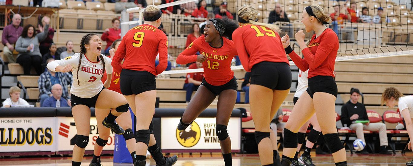 Be ready. Bulldog Volleyball, a nationally-ranked  powerhouse.