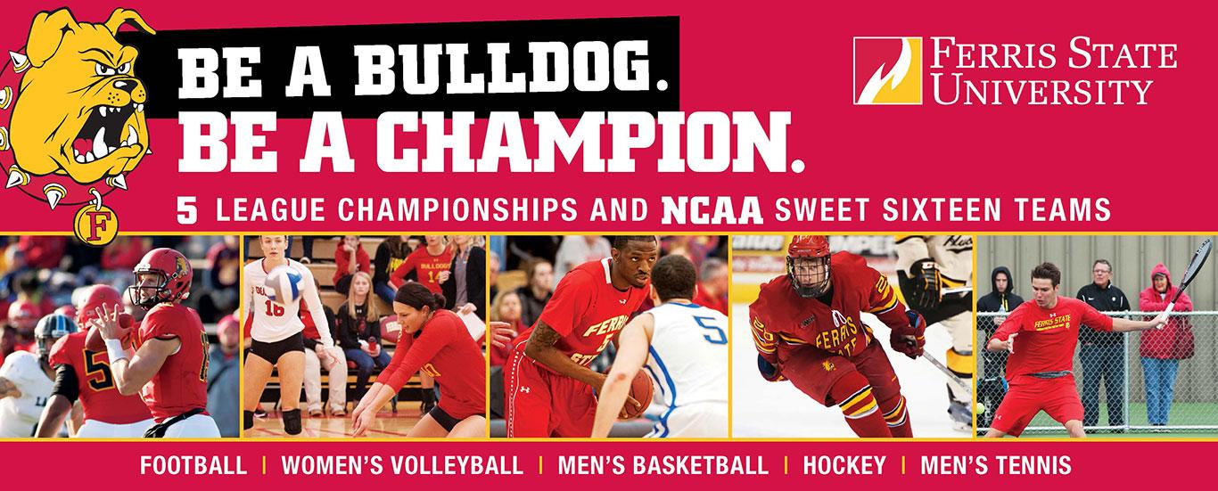 Be a Bulldog. Be a Champion.