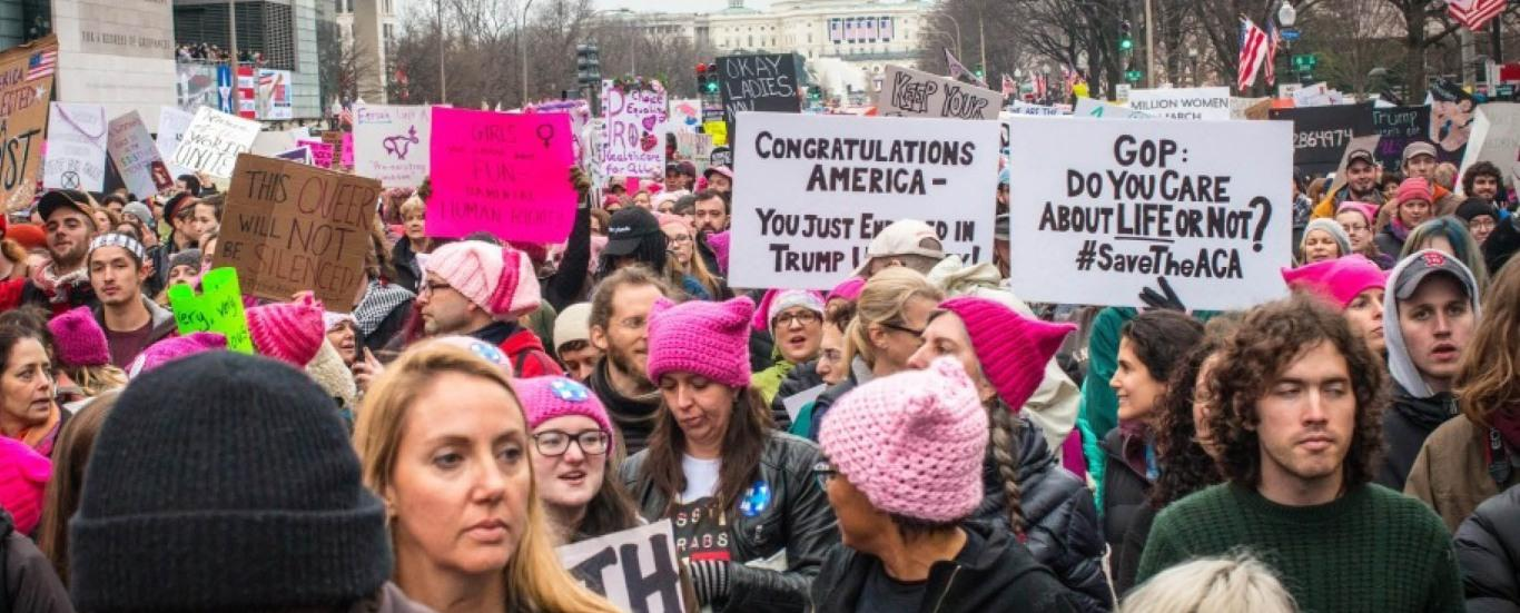 Museum of Sexist Objects Seeks Women's March Stories and Photos