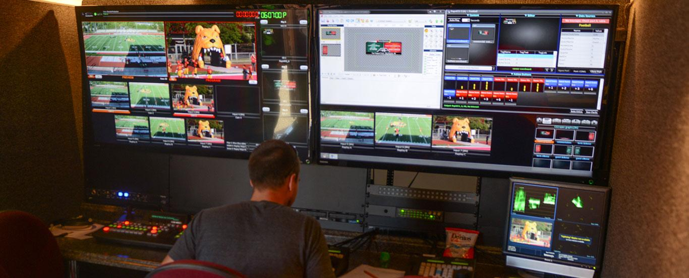 TV and Digital Media Production's Portable Unit