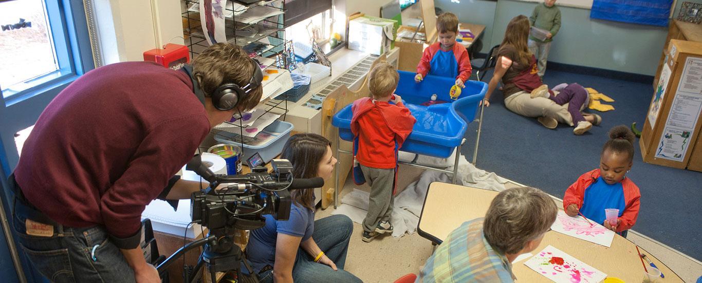 TV & Digital Media Production Visiting Tot's Place