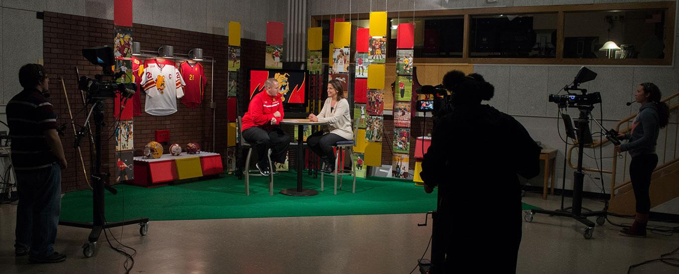 TV and Digital Media Production's Studio