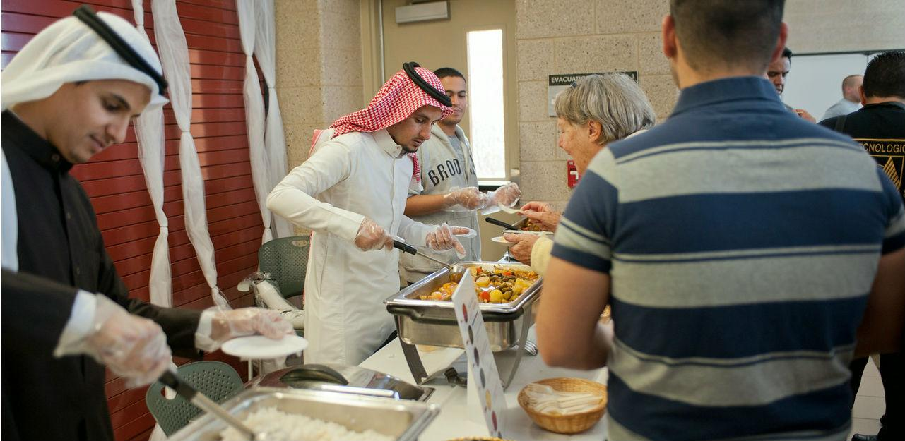 Dining Services aids in the annual International Festival